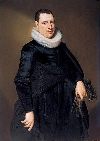 Cornelis van der Voort - Portrait of a man
