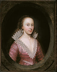 A lady, thought to be Catherine Fenn