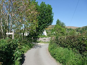 Corner of a lane near Geinas - geograph.org.uk - 1323598.jpg