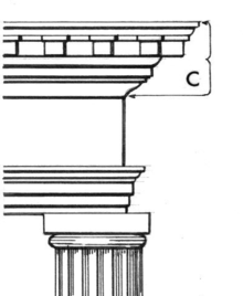 In Classical Architectureedit A Cornice