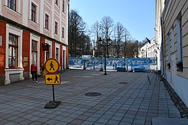 Coronavirus atmosphere at Tartu town hall square on 7th of April 2020 07.jpg