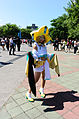 Cosplayer of Jirachi, Pocket Monsters at FF24 20140727.jpg