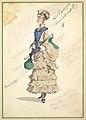 Costume Design for 'Fourth Ballet Girl (Fraülein Hochspitz)' (in long beige gown) MET DP825260.jpg
