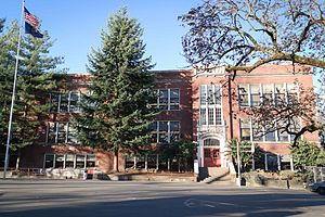 Northwest District, Portland, Oregon - The Metropolitan Learning Center in Northwest Portland.