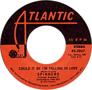 Could It Be Im Falling in Love 1972 single by The Spinners