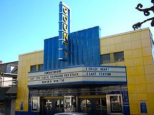 Doylestown Historic District - County Cinema, Doylestown Historic District, March 2010