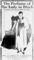 Courier Gazette The Perfume of The Lady in Black Advert.png