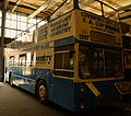 "Coventry Transport Museum bus ""Peeping Tom"" (PDU 125M) 1973 Daimler Fleetline East Lancs, Coventry City FC livery, 2 April 2011.jpg"