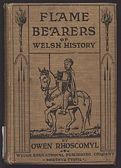Cover of Flame-bearers of Welsh history