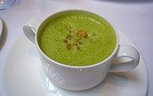 Cream of asparagus soup - Wikipedia