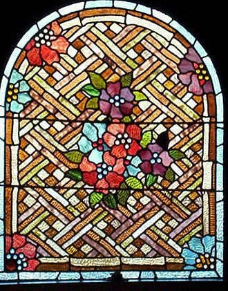 Craigdarroch Castle - Image: Craigdarroch Castle Stained glass