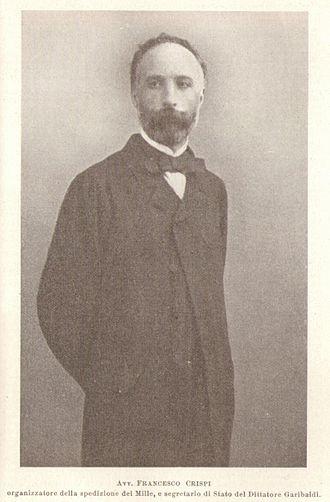 Francesco Crispi - Francesco Crispi as Secretary of State in 1860