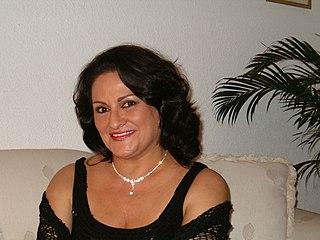 Cristina Altamira Argentine female singer