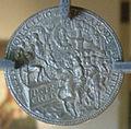 Cristoforo foppa detto caradosso (attr.), ludovico il moro verso.JPG