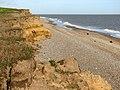 Crumbling cliffs east of Benacre - geograph.org.uk - 2137791.jpg