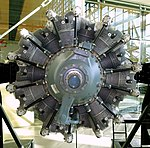 Curtis Wright R2600 engine - Evergreen Aviation & Space Museum - McMinnville, Oregon - DSC00502.jpg