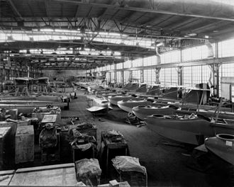 Curtiss HS - HS-1 production at Curtiss, in 1917-1918.