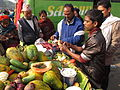 Cut Fruits Stall - Gangasagar Fair Transit Camp - Kolkata 2012-01-14 0844.JPG