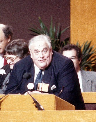 Cyril Smith - Smith addressing the Liberal Party Assembly in 1987