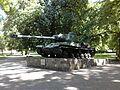 Czołg IS-2 w parku przy ulicy Adama Mickiewicza.jpg