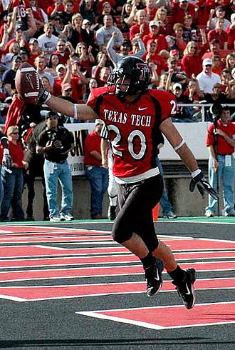 Danny Amendola - Amendola as a freshman at Texas Tech