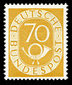 DBP 1951 136 Posthorn.jpg
