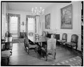 DINING ROOM, LOOKING NORTH - Westover, State Route 633, Westover, Charles City, VA HABS VA,19-WEST,1-32.tif