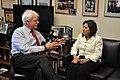 DSRep. George Miller meeting with Labor Secretary Hilda Solis (5449393886).jpg