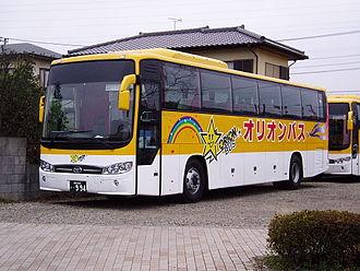 Daewoo Bus - Daewoo Bus BX212 for Sugisaki Kankō Bus, Japan