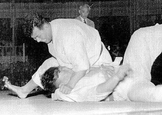 Toshirō Daigo - Toshiro Daigo in the final of the 1951 All-Japan Judo Championships