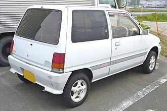 Daihatsu Mira - Daihatsu Mira rear