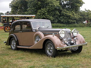 Daimler Straight-Eight engines - 4-litre Thirty 1939 example for the Lord Mayor of London