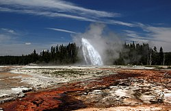 Daisy Geyser erupting in Yellowstone National Park edit1.jpg