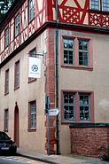 Dalberger Haus Firmenschild Porzellanmanufaktur