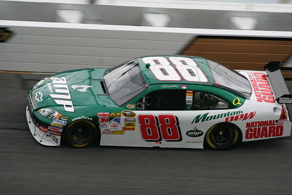 Dale Earnhardt Jr.'s No. 88 Amp Energy Chevrolet in 2008 Dale Earnhardt, Jr. 2008 Amp Chevy Impala.jpg