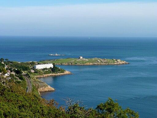 Dalkey Island from Killiney Hill