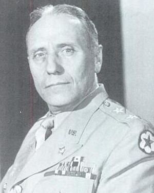 Daniel Noce - Noce as Deputy Chief of Staff for U.S. forces, European Theater of Operations, 1944.