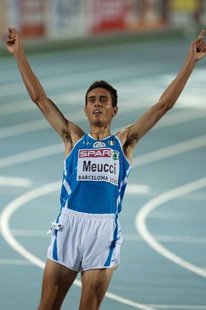 Daniele Meucci - Meucci at the 2010 European Championships