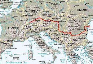 Dunav Vikipedija Slobodna Enciklopedija