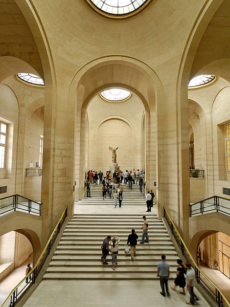 Daru Staircase, Louvre Winged Victory