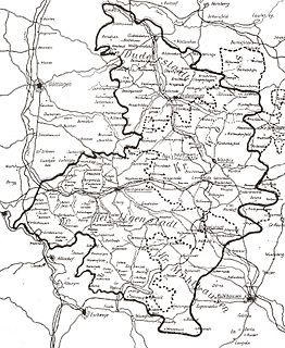 Eichsfeld (district) District in Thuringia, Germany
