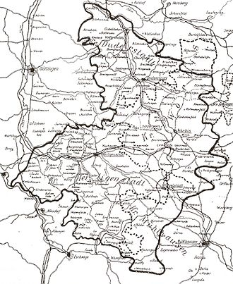 Mühlhausen - The Eichsfeld in 1900