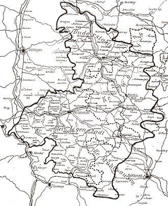 Mühlhausen - The Eichsfeld in 1900