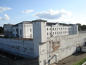 English: Daugavpils prison