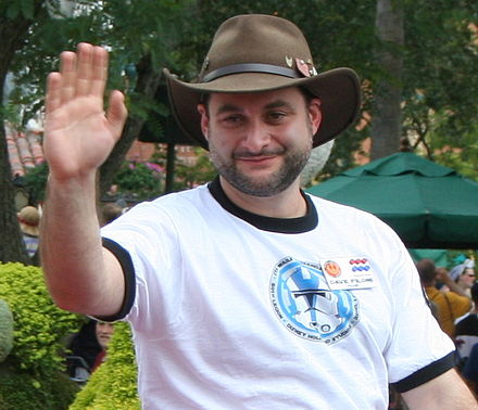 Dave Filoni, supervising director on two Star Wars animated series, was later promoted to oversee the development of future Lucasfilm Animation projects. Dave Filoni.jpg