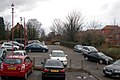 Daventry, cars parked St Johns Square - geograph.org.uk - 1729436.jpg