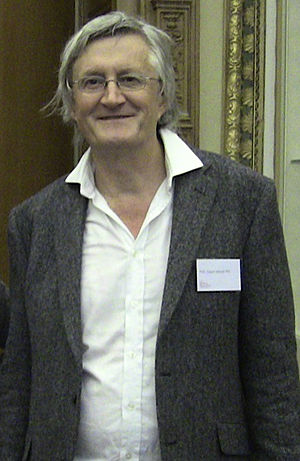 David Attwell - David Attwell at the library of the Royal Society, London, 2012