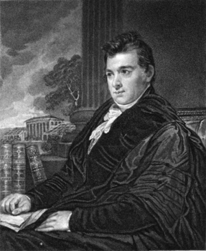 David Hosack - Engraving of a portrait of Hosack by Thomas Sully