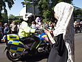 Day 66 2012 Olympic Torch Relay Penge (7628787702).jpg