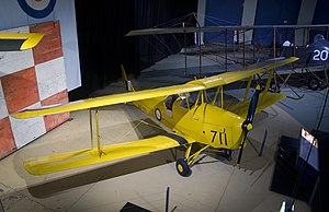 RAAF Museum - de Havilland Tiger Moth (A17-711)